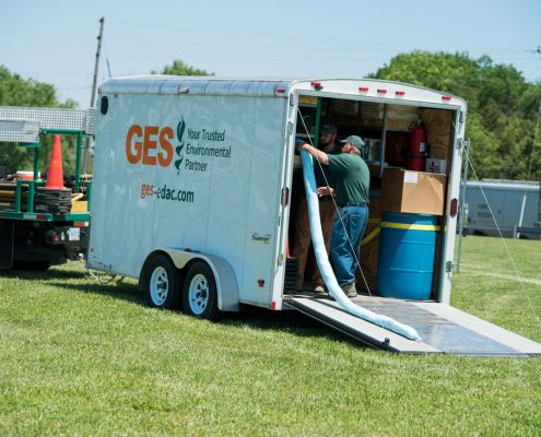GES Provides Emergency Spill Response Services